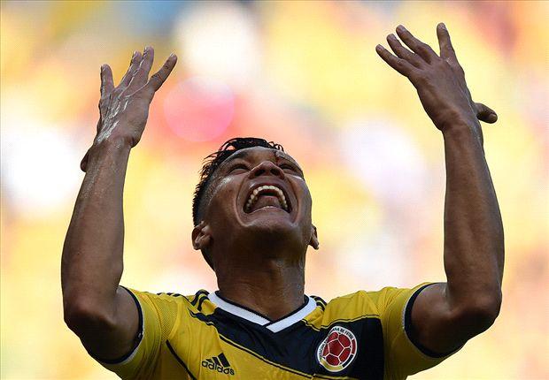 Teo anotó el segundo en la goleada de Colombia sobre Grecia.