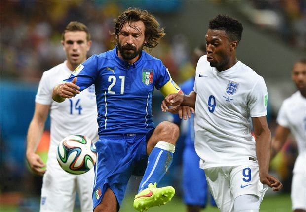 Pirlo hails 'courageous' Italy