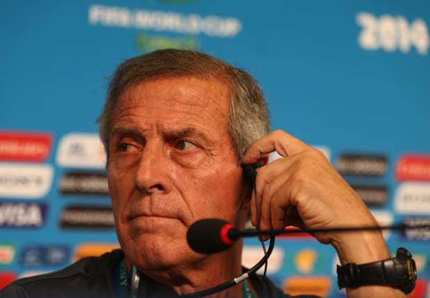 Tabarez: Suarez still not 100 per cent but will still cause Italy problems