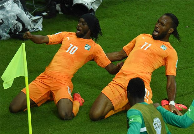 Cote d'Ivoire 2-1 Japan: Gervinho & Bony head home to deny Honda hammering