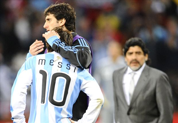 Maradona: World Cup fate depends on Messi