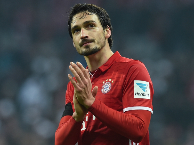 Bayern defender Hummels ruled out of Madrid clash