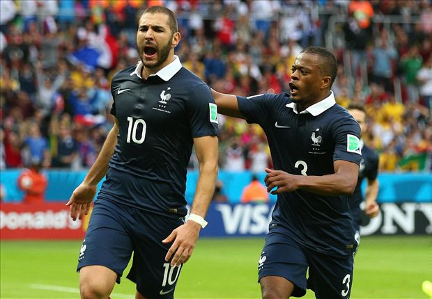 Benzema fires at right time for France