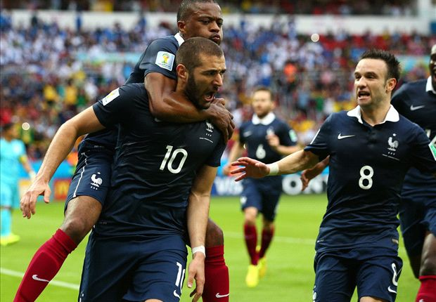 France 3-0 Honduras: Brilliant Benzema dispatches Suarez's side
