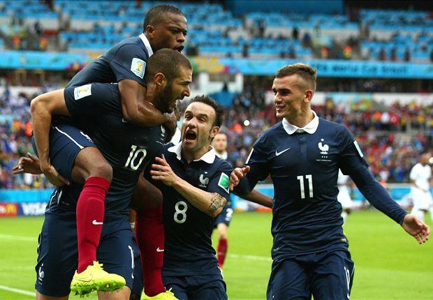 Karim Benzema führte Les Bleus zum Sieg