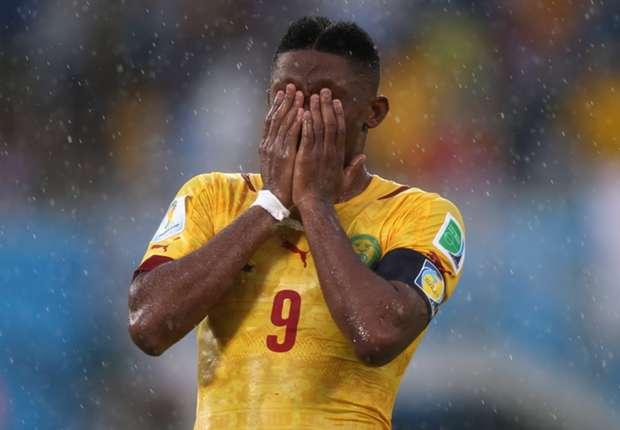 Eto'o set to miss vital Croatia clash