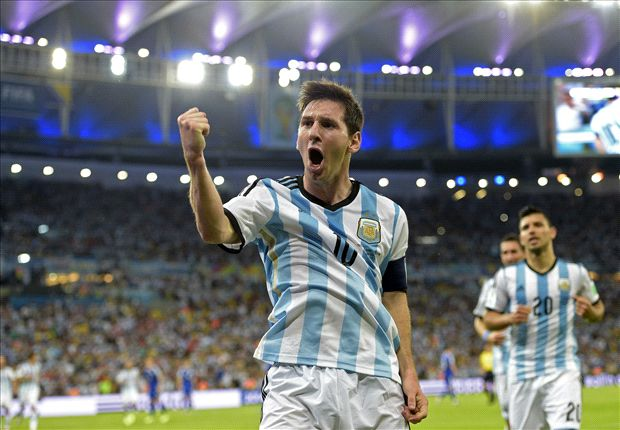 Messi: My goal was a relief but Argentina can still improve