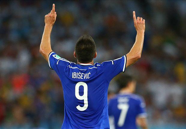 Ibisevic irá como titular ante los africanos.