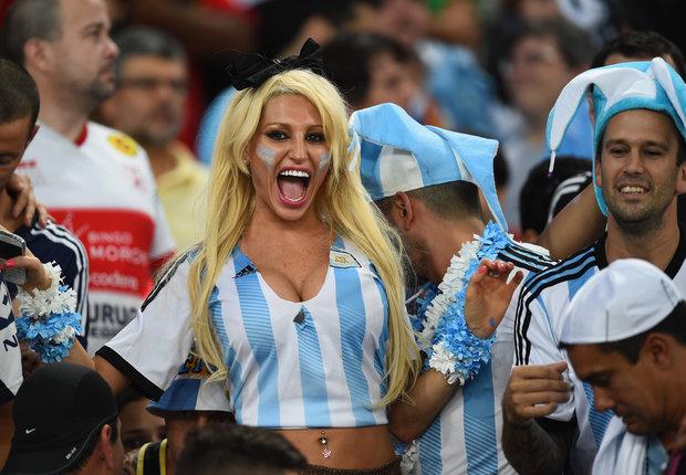 les supportrices de la coupe du monde 2014 - supportrice de l u0026 39 argentine
