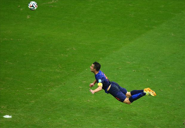 Van Persie: Spain header my best ever goal