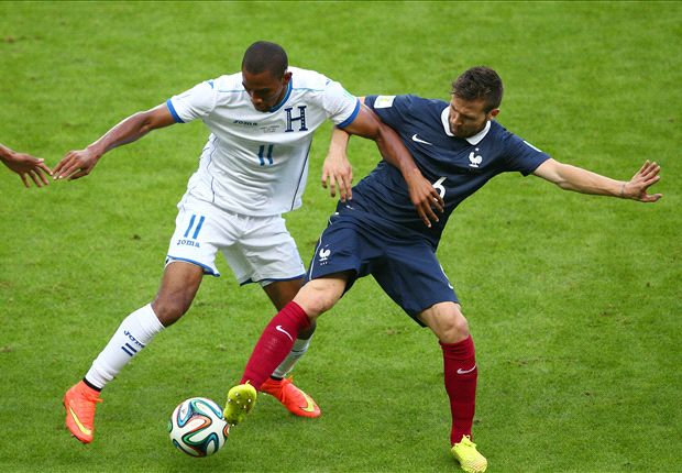 Cabaye sympathises with Gerrard complaints over Honduras