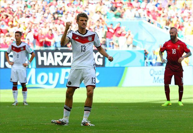 Duitsland favoriet om USA te verslaan