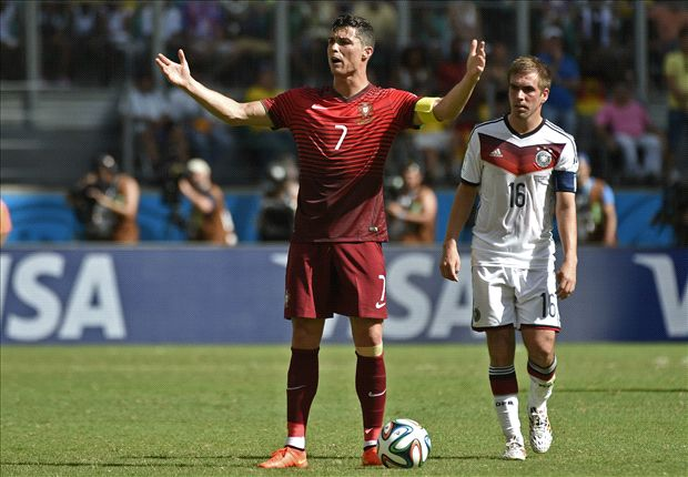 Ronaldo helpless as Portugal and Pepe implode against Germany