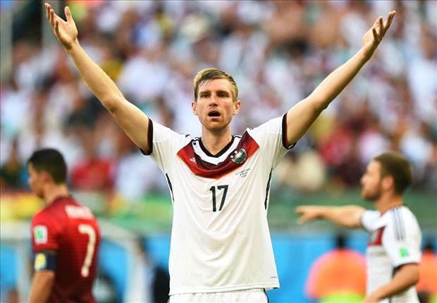 Mertesacker handed 100th Germany cap