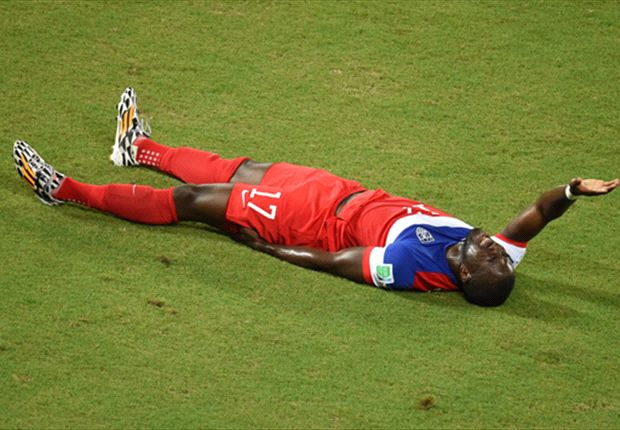 Altidore substituted from Ghana match with hamstring injury
