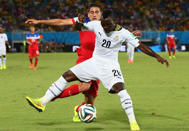 Asamoah: I want to play up front