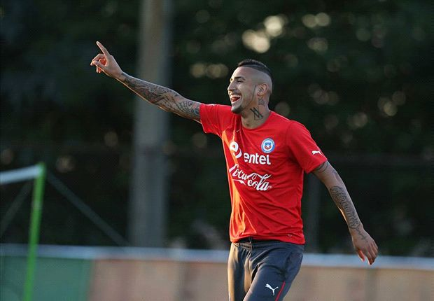 Vidal: I'll be fit to face Spain