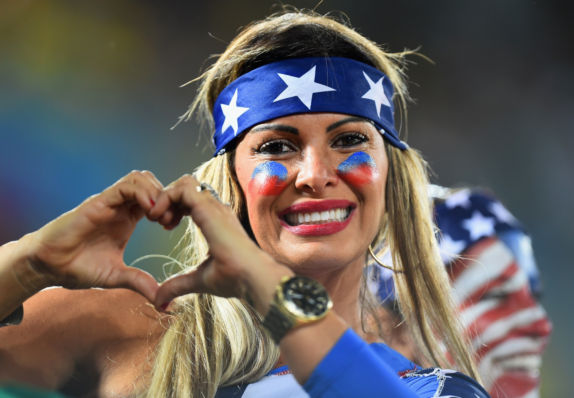 les supportrices de la coupe du monde 2014