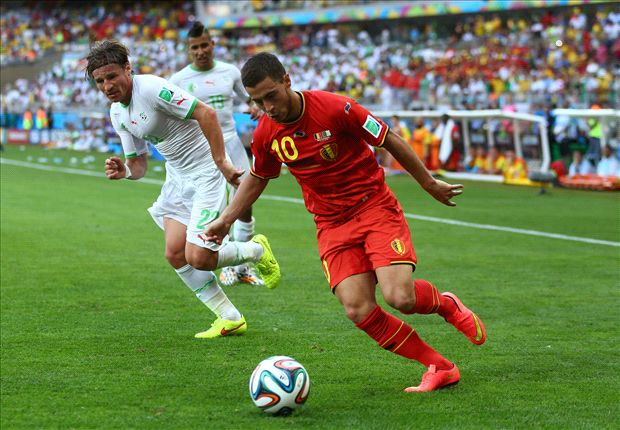 Hazard feels pressure as Belgium's star player