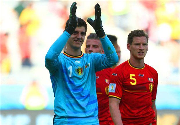 Courtois elogió a Messi, a quien conoce de la Liga española