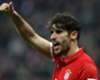 Javi Martinez happy in the shadows