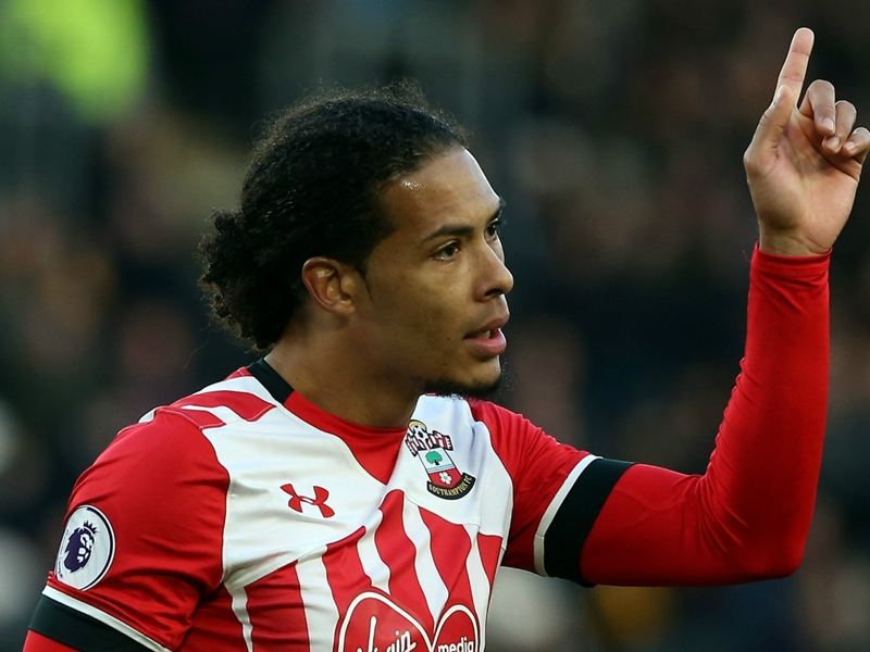 Van Dijk left out of Southampton squad amid Liverpool rumours