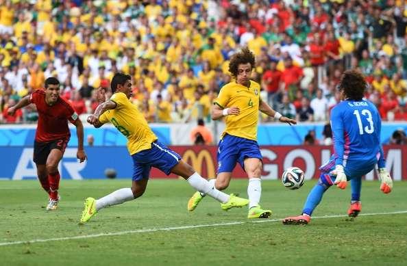 Brazilië en Mexico boeien, maar scoren niet