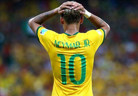 Con portero y sin árbitro, Brasil no brilla