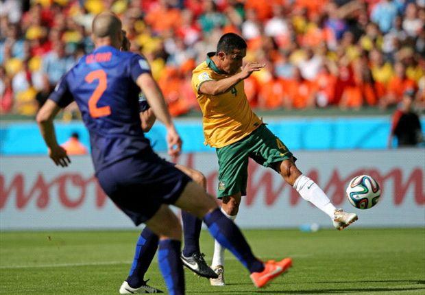 Australiens Tim Cahill machte gegen die Niederlande ein starkes Spiel