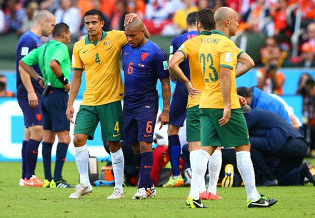From World Cup villain to unsung hero – Nigel de Jong keeping Netherlands running