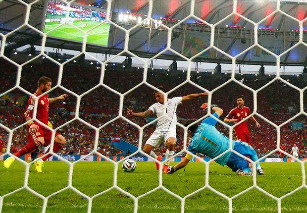 Chile aplastó a España
