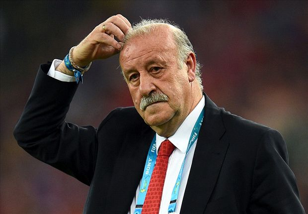 Del Bosque: Spain must move on from World Cup wound