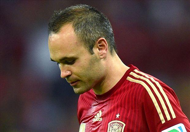 Iniesta handed 100th Spain cap