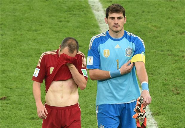 Casillas: Age not an excuse for Spain
