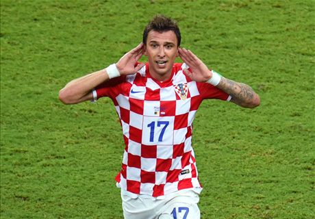 'Mandzukic is the best striker in Europe'
