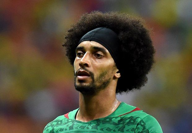 Assou-Ekotto headbutts Cameroon team-mate