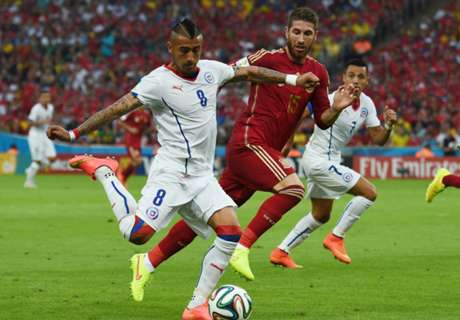More injury worries for Vidal