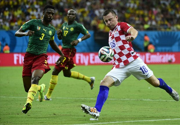 'Glass got stuck in my foot!' explains Olic after win
