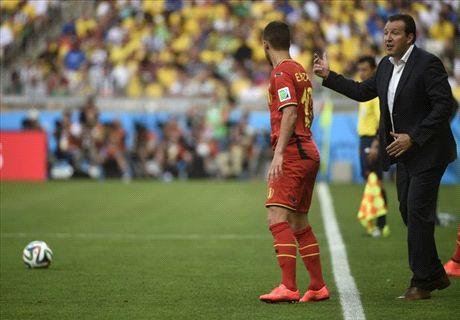 Belgique, Wilmots met en garde Hazard