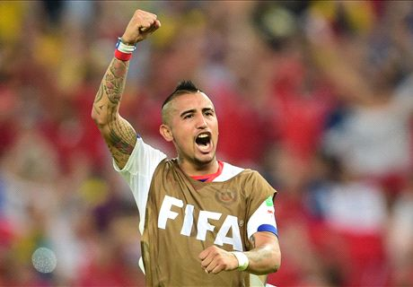 Van Gaal reignites interest in Vidal