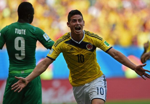 Colombia 2-1 Cote d'Ivoire: James and Quintero seal dramatic win