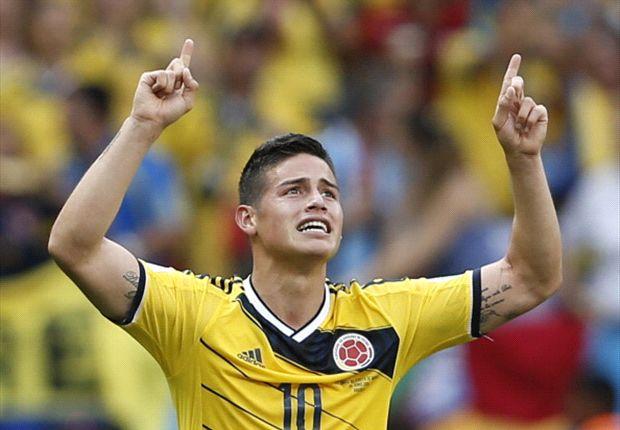 Colombia 2-1 Costa de Marfil: James Rodríguez emula a Freddy Rincón