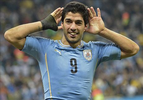 DONE DEAL: Suarez joins Barca for €88m