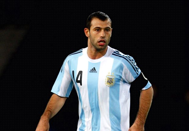 Mascherano makes 100th appearance for Argentina