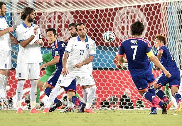 Japón 0-0 Grecia: Empate a nada que clasifica a Colombia