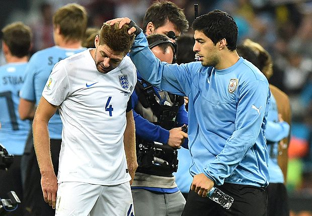'I don't like it when he hurts like this' - Suarez expresses sympathy for Gerrard