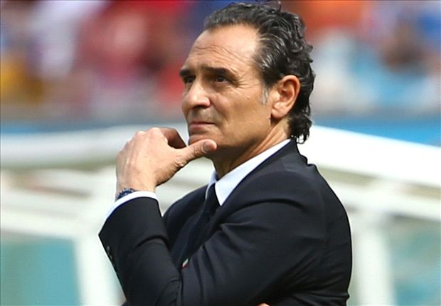 Italy 'deserved' Costa Rica loss, says Prandelli