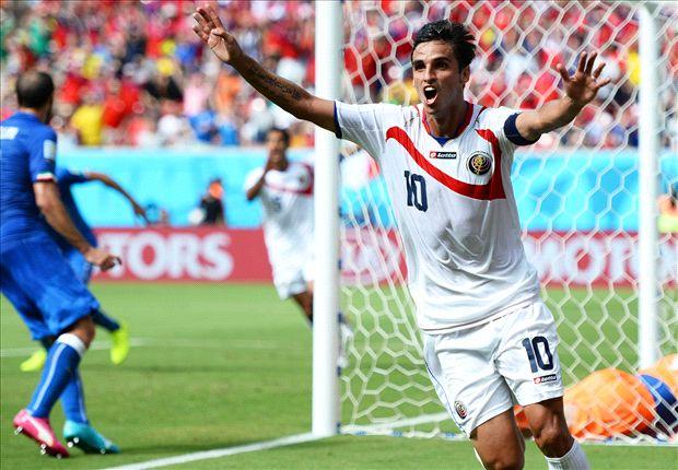 Italy 0-1 Costa Rica: Ruiz stuns Azzurri to book last-16 berth