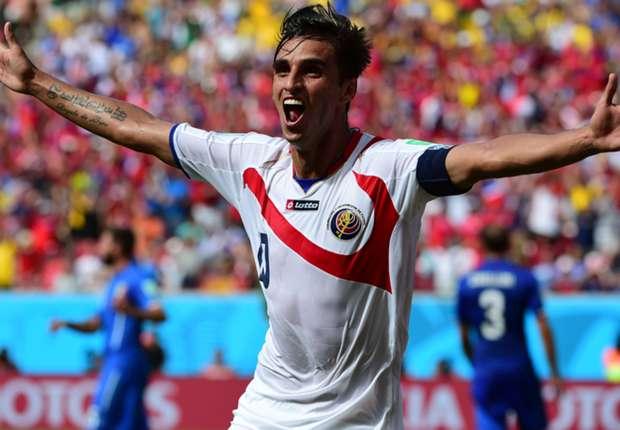 Will Costa Rica ins Halbfinale führen: Bryan Ruiz