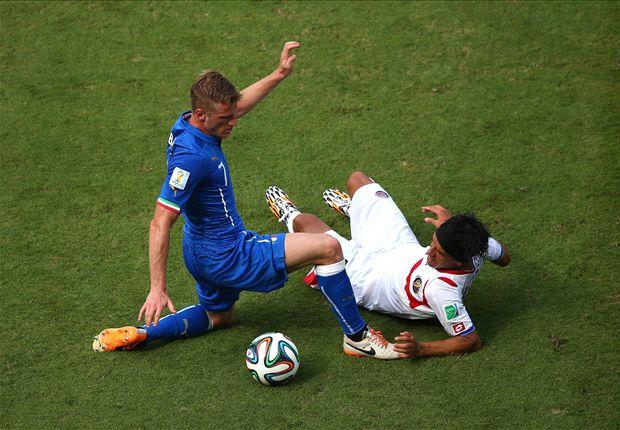 Las curiosidades del Italia 0-1 Costa Rica
